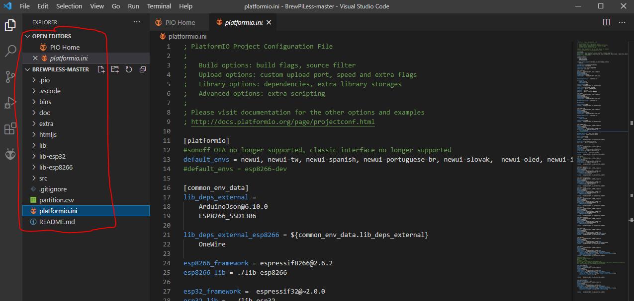 VS Code File Browser